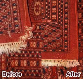 Orange County Rug Edge-Serging