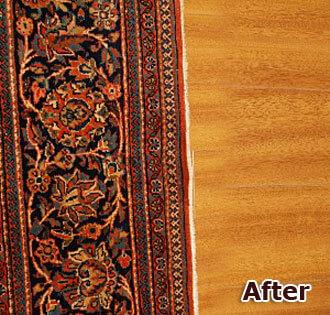 Oriental Rug Restoration Orange